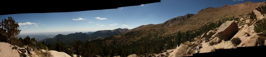 Pike's Peak Panorama