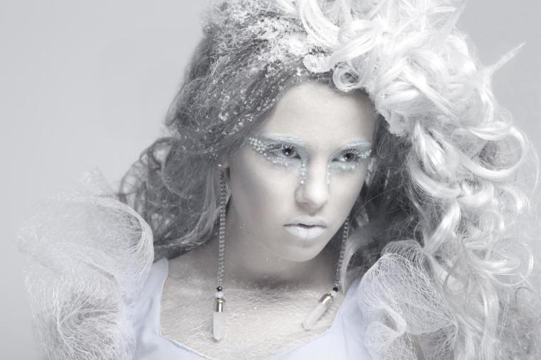 Either that or Narnia's ice queen, photograph by