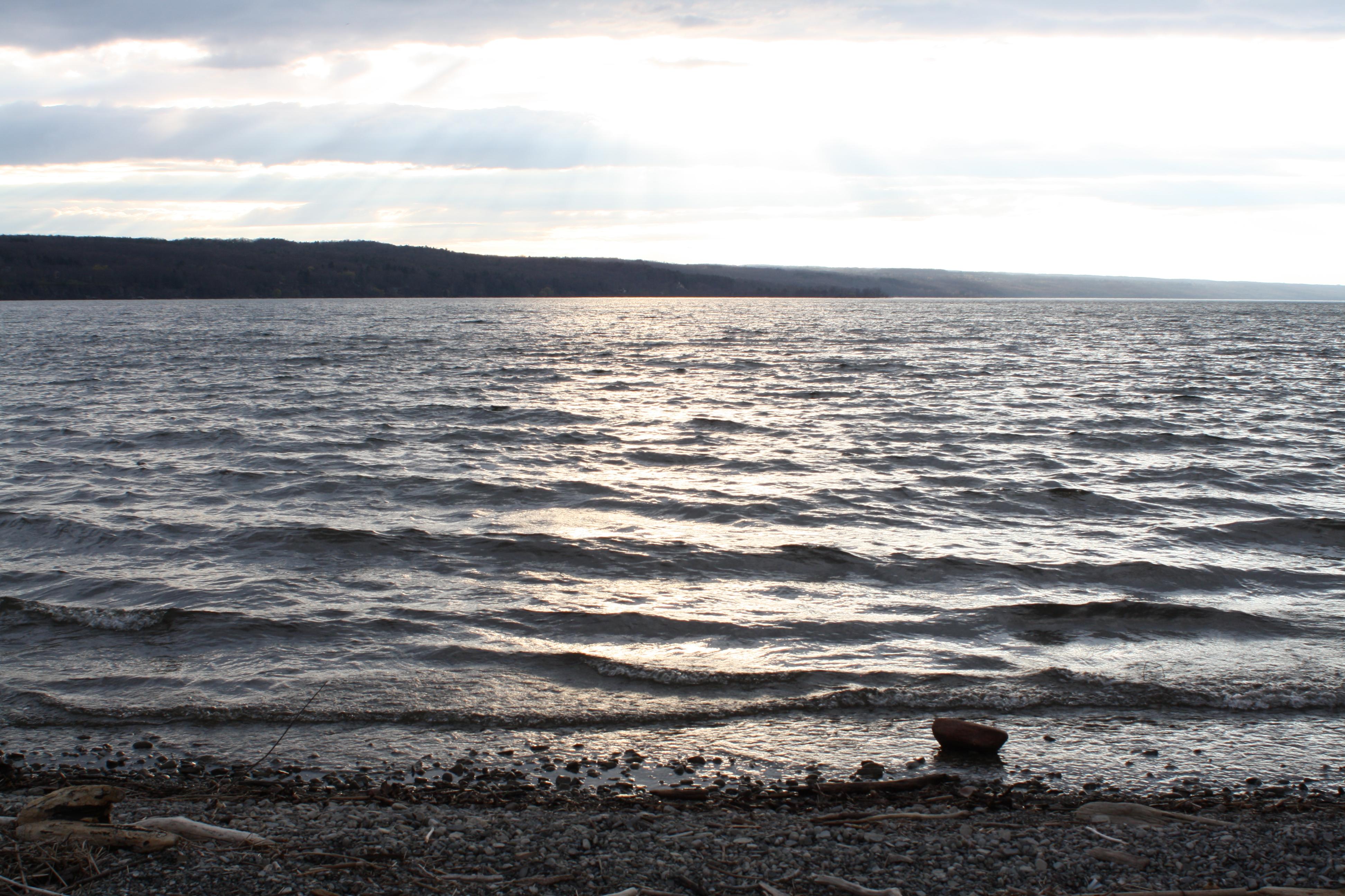 Sunset on Cayuga Lake | standingoutinmyfield