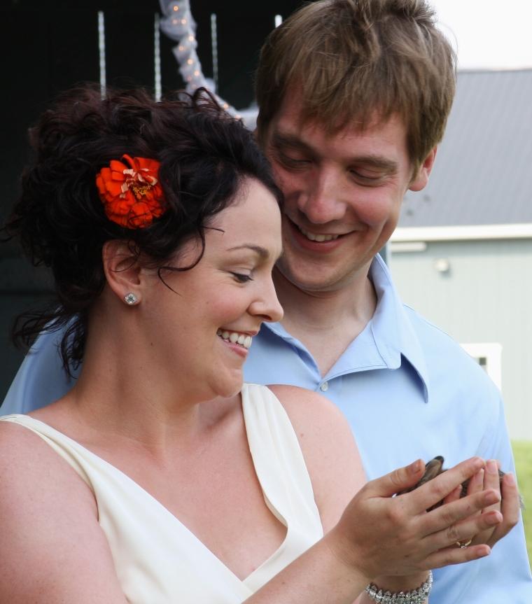 Great wedding photo op